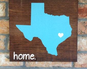 Customizable State Home Decor
