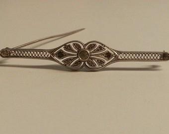 Vintage Sterling Silver Brooch/Pin