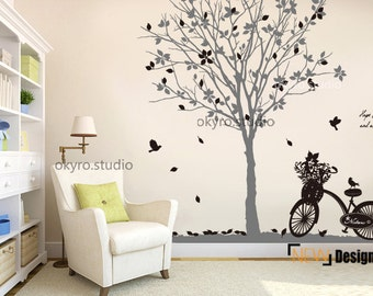 Vine bird dream garden wall stickers vine by - Stickers arbre chambre fille ...