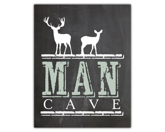 Wall Decor Man Cave Signs : Man cave wall art sign gift for boyfriend or