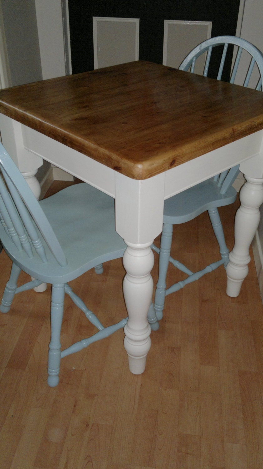 Sold country style kitchen table and by retrotwistedinburgh for Country style kitchen table