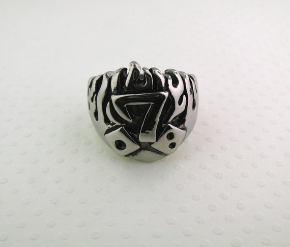lucky 7 dice ring