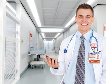 ID Card Badge Buddy Doctors - 1350-2132