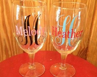 Personalized Wine Glasses