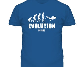 Scuba Evolution Diving T Shirt