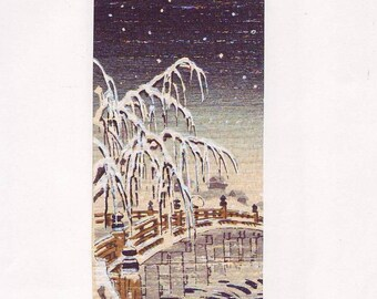 Popular Items For Japanese Woodblock Print On Etsy