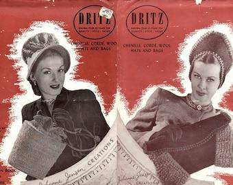 Dritz Vol. 3 Fashionista Hats & Bags 1945