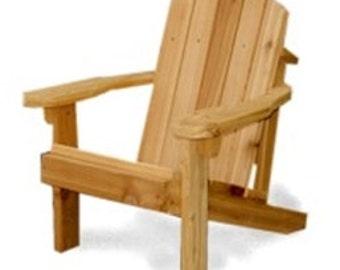 Jr Adirondack chair fully assembled