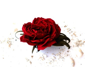 Rose dark red