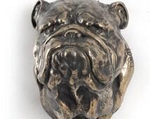 einzigartige artikel zum thema bulldog statue etsy. Black Bedroom Furniture Sets. Home Design Ideas
