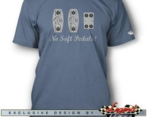 AC Shelby Cobra T-Shirt for Men - No Soft Pedals! - Multiple colors available, Size: S - 3XL - Great AC Cobra & Replica Gift by Legend Lines