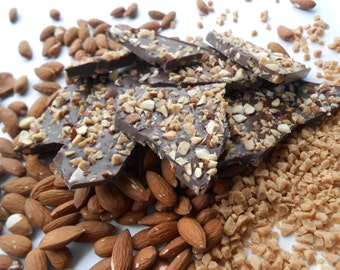 Roasted Almond Toffee Bark