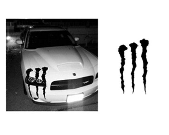 Items Similar To Dodge Charger Custom Monster Slash Hood