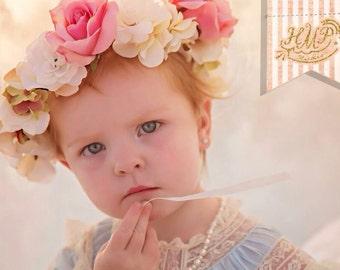 "The ""Anna"" Custom Toddler Flower Crown"