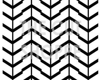 The Chevron on a Stick background cut file is available in 8.5x11 and 12x12 sizes, and can be used on your paper crafting projects.