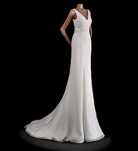 Empire Wedding Dress by Impooria E2013022