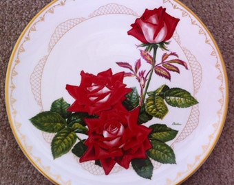The Love Rose by Edward Marshall Boehm - Roses of Excellence Collection