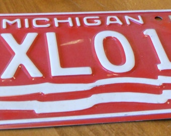 Vintage 1976 Michigan License Plate