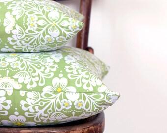 Pillows, Decorative Pillows, Canvas Pillows, Green Pillows, Decorative Throw Pillows, Pillow Covers, Cushions,Wedding Gift