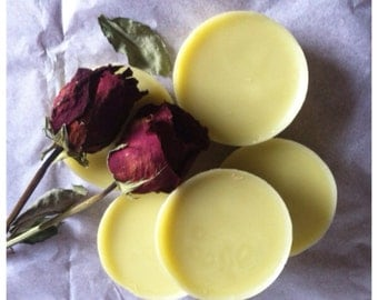 Rose scented solid Lotion Bars