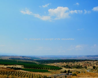 Fine Art Photography Print .Holy Land. Landscape, nature art.  Colorful art. Prints and posters,gift,  wall decoration.