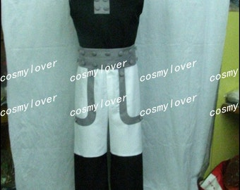 Handmade High Quality Soul Eater Black Star Cosplay Costume