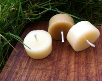 Beeswax Tea Light, Set of 10