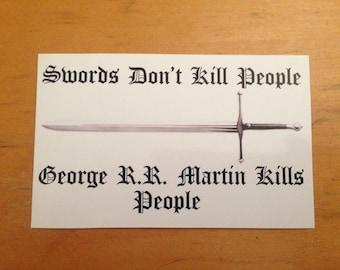 Game of Thrones Sticker