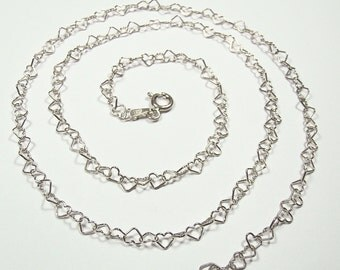 LOVESTORY chain - sterling silver fineness 925 - length to choose
