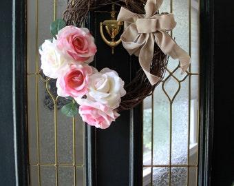 Flower Door Wreath