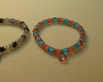 MADE TO ORDER colorful bracelets.