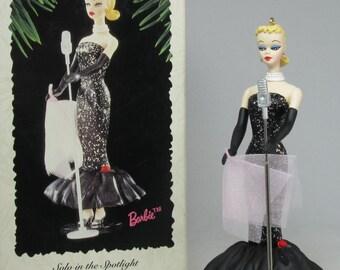 1995 Hallmark Barbie Solo in the Spotlight Keepsake Ornament #2 in Nostalgic Barbie Series