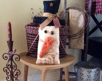 Primitive snowman head