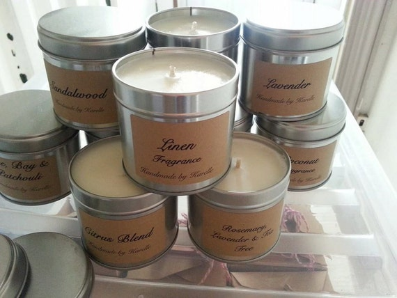 Soy Tin Candles