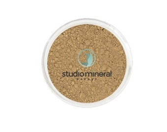 Dark All Natural Mineral Makeup Foundation,  Blur lines and wrinkles, Keep skin young and clear