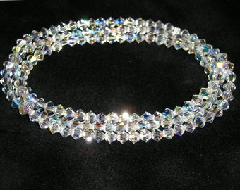 SET OF THREE Swarovski Crystal Bracelets