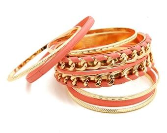 Gold Layered Bangles