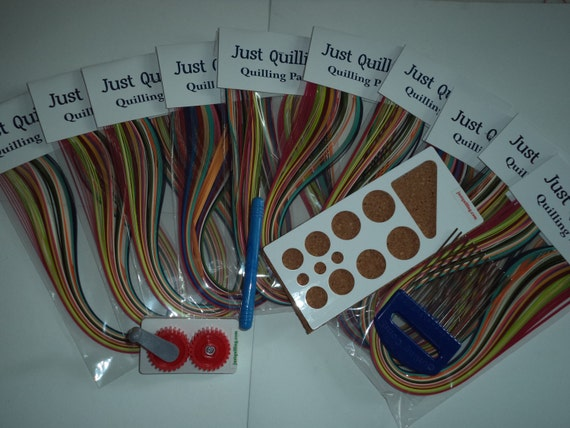 quilling paper strips machine