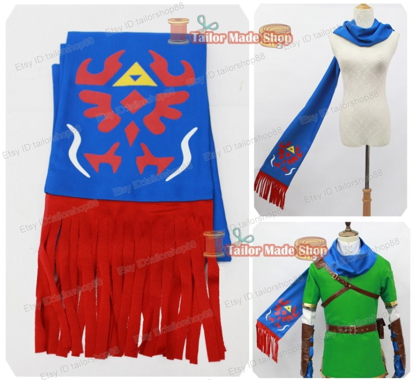Hyrule Warriors Link Scarf Pattern Hyrule Warriors Link Cosplay