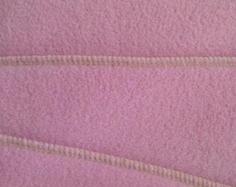 Fleece Diaper Liner -Pink(large) 4.5x13.5