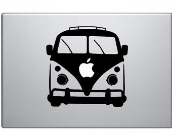 VW Van Macbook Decal Macbook Sticker Mac Decal Mac Sticker Decal for Apple Laptop Macbook Pro / Macbook Air