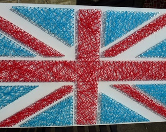 Union Jack Wool Wall Art