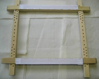 """New ITA 24x24"""" traditional slate frame for cross stitch"""