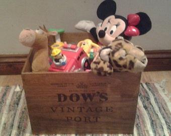 vintage storage box (large)