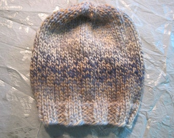 Simple Bulky Handknit Child's Hat
