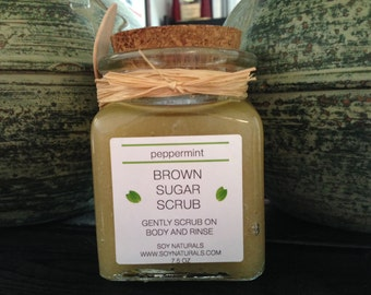 Brown Sugar Body Scrub and Polish