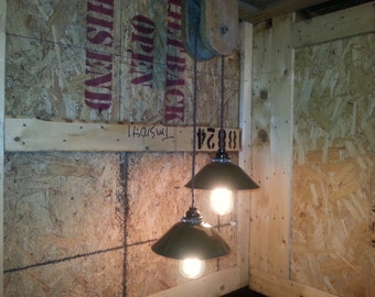 barn pulley pendant light