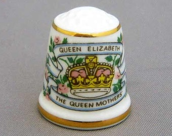 Sutherland Thimble - Queen Mother's 85th Birthday