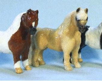 Miniature Horse Figurine