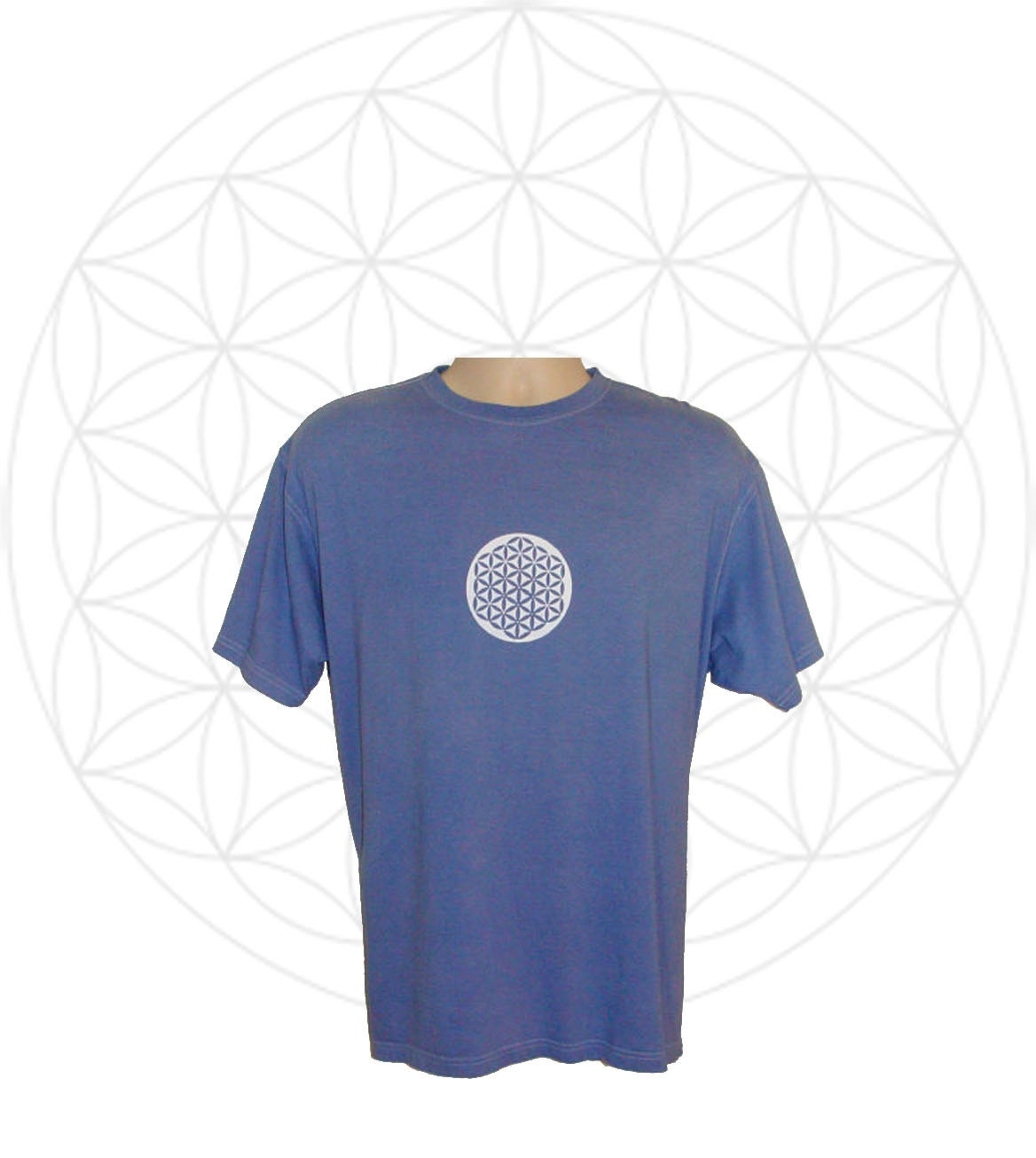 Organic Shirts Mens Organic Cotton T Shirt Hand Dyed With